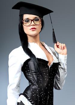 sexy Studentin